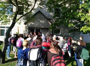 Laiminama Labūnavos pagrindinės mokyklos bendruomenė