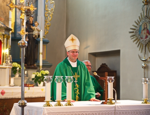 2016 m. birželio 26 d. Vyskupo Kęstučio Kėvalo vizitacija Jonavos šv. apašt. Jokūbo parapijoje
