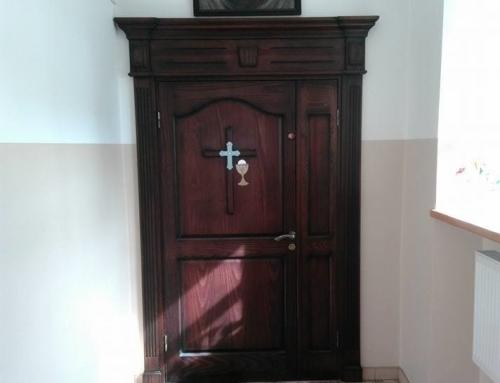 Nuolatinės Švč. Sakramento adoracijos koplytėlė vėl atidaryta