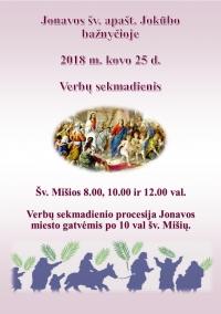 Verbu_sekmadienis
