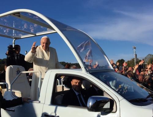 2018-09 Įspūdžiai po susitikimo su popiežiumi Pranciškumi