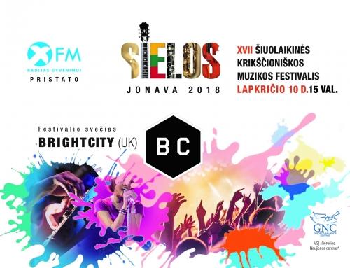 Jonavoje vyks didžiausias Baltijos šalyse XVII šiuolaikinės krikščioniškos muzikos festivalis SIELOS 2018