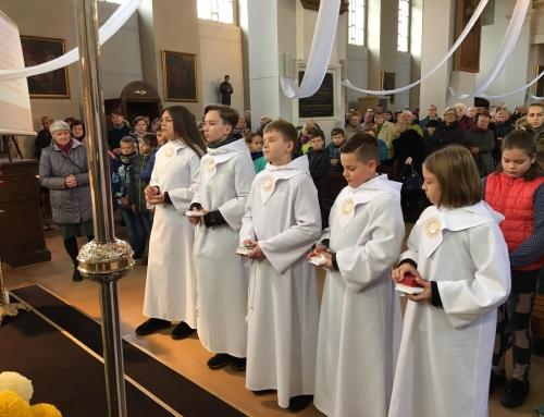 2018-11-04 Pirmosios Komunijos šventė