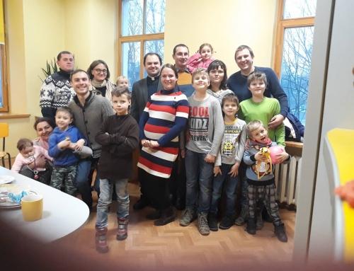 Šv. Šeimos dieną šeimų susitikimas