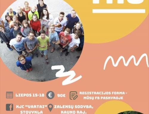 Kvietimas į jaunimo stovyklą