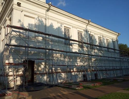 Prasideda bažnyčios remonto darbai